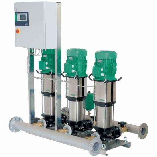 Wilo COR-2 HELIX V 212/SKw-EB-R (арт. 2450261) – насосная станция для водоснабжения и повышения давления воды
