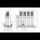 Wilo Smart 4 HELIX V 616 - насосная станция для водоснабжения и повышения давления воды (арт. 2787485)