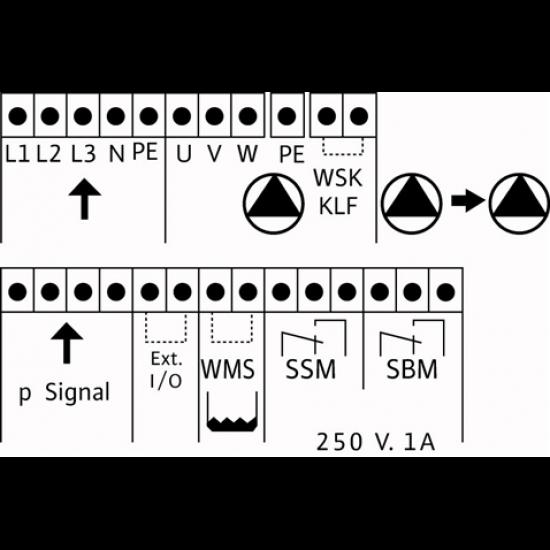 Wilo CO-4 MHI 405/CE-EB-R - насосная станция для водоснабжения и повышения давления воды (арт. 2785868)