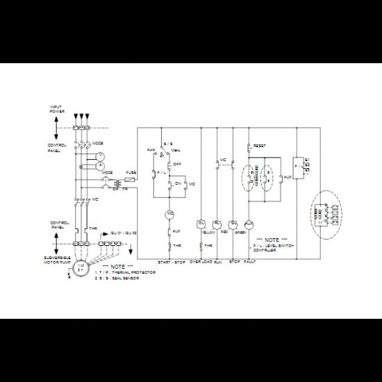 Grundfos DWK.O.13.100.75.5.0E.R (арт. 96922738) – дренажный погружной канализационный насос