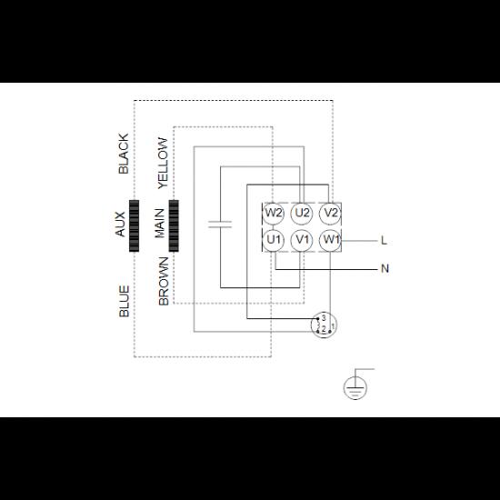 Grundfos CM5-6 A-R-A-E-AVBE (арт. 96935462) – горизонтальный многоступенчатый насос