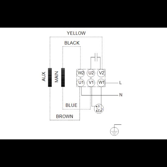 Grundfos CM5-9 A-R-G-E-AQQE (арт. 97515050) – горизонтальный многоступенчатый насос