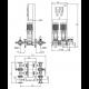 Wilo CO-2 HELIX V 1013/SK-FFS-S-EB-R (арт. 2453052) – насосная станция для пожаротушения