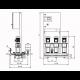 Wilo CO-3 HELIX V 605/CC-EB-R - насосная станция для водоснабжения и повышения давления воды (арт. 2785416)