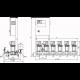 Wilo COR-4 MVIS 803/SKw-EB-R (арт. 2897585) – насосная станция для водоснабжения и повышения давления воды