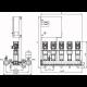 Wilo COR-5 HELIX V 1604/SKw-EB-R (арт. 2787198) – насосная станция для водоснабжения и повышения давления воды