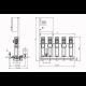 Wilo COR-5 HELIX V 610/SKw-EB-R (арт. 2785767) – насосная станция для водоснабжения и повышения давления воды