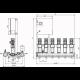 Wilo COR-6 HELIX V 1009/SKw-EB-R (арт. 2785812) – насосная станция для водоснабжения и повышения давления воды