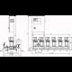 Wilo COR-6 MVIS 806/SKw-EB-R (арт. 2787149) – насосная станция для водоснабжения и повышения давления воды
