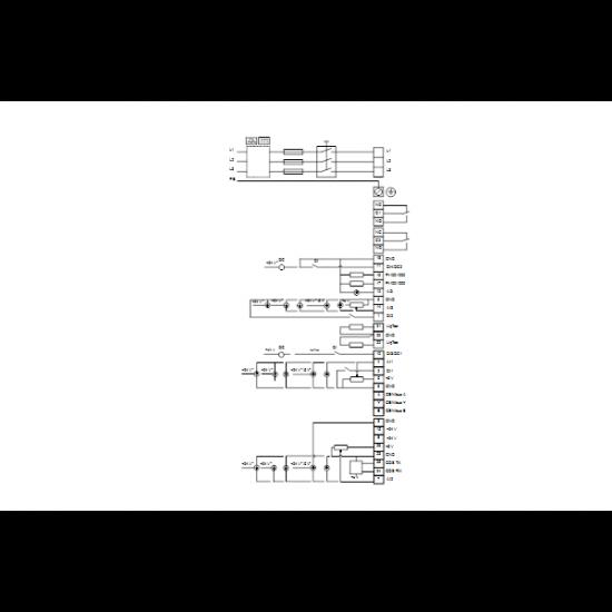Grundfos NBE 32-250/244 AF2ABAQE (арт. 99100309) – консольно-моноблочный одноступенчатый насос