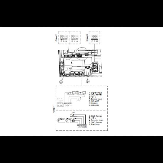 Grundfos NBGE 65-40-315/273 AF2ABAQE (арт. 95106740) – консольно-моноблочный одноступенчатый насос