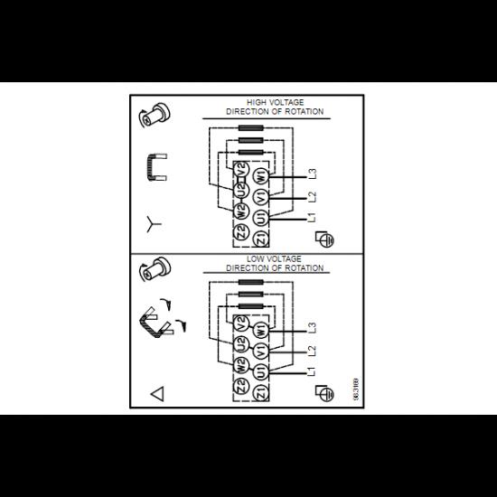 Grundfos NBG 50-32-125.1/121 AF2ABAQE (арт. 95105206) – консольно-моноблочный одноступенчатый насос
