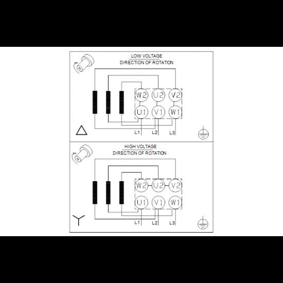 Grundfos NB 32-200/197 AF2ABQQE (арт. 98128726) – консольно-моноблочный одноступенчатый насос