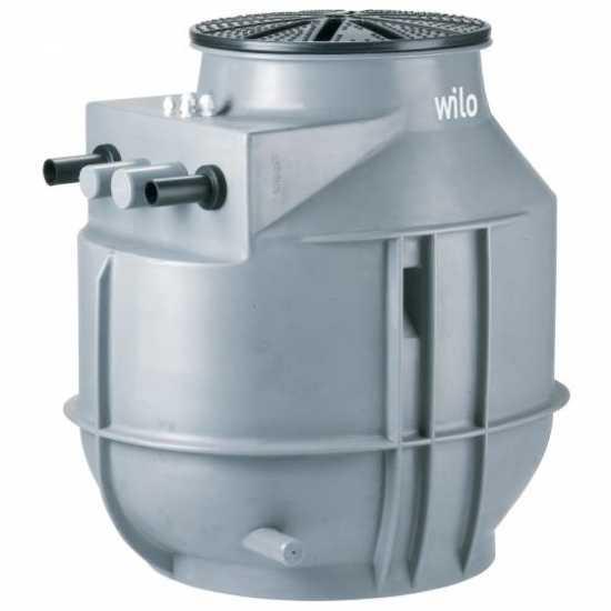 Дренажная напорная установка WILO DrainLift WS 40 D/TC40(1~) BV (арт. 2525602)