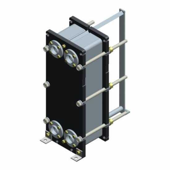 Аппарат теплообменный пластинчатый разборный ЭТ-123c (Ду 300 мм)